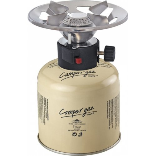 CAMPERGAZ 500 DELUXE PIEZO Καμινέτο Υγραερίου & Φιαλίδιο με Βαλβίδα Ασφαλείας