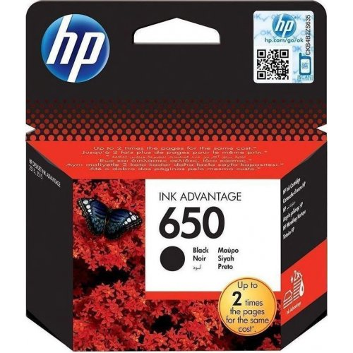 HP (CZ101AE) No 650 Black Μελάνι Εκτυπωτή
