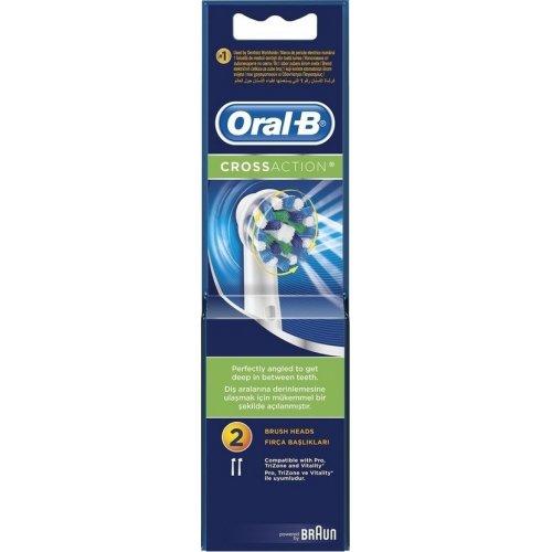 ORAL-B EB50-2 CROSS ACTION Ανταλλακτικά Οδοντόβουρτσας 2 ΤΜΧ (97533033) 0006584
