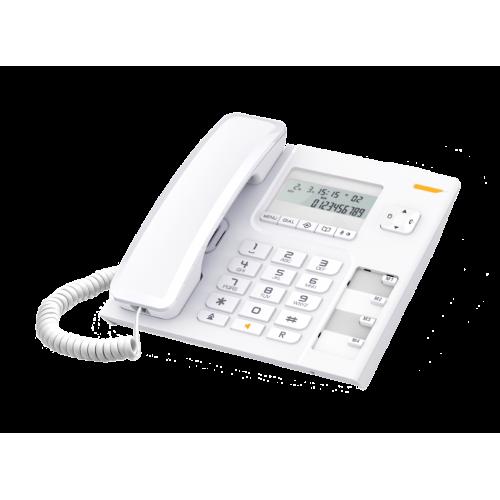 ALCATEL Temporis T56 Ενσύρματο Επιτραπέζιο Τηλέφωνο Λευκό 0011026