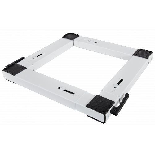 ROLLER Βάση Πλυντηρίου-Στεγνωρίου Τετράγωνη Λευκή 00692 (Ελληνικής Κατασκευής Α' Ποιότητας) 0011061