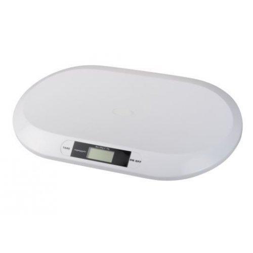 TOPCOM WG-2490 Digital Baby Scale 2000 Βρεφική Ζυγαριά Ακριβείας έως 20kg ανά 10gr 0011672