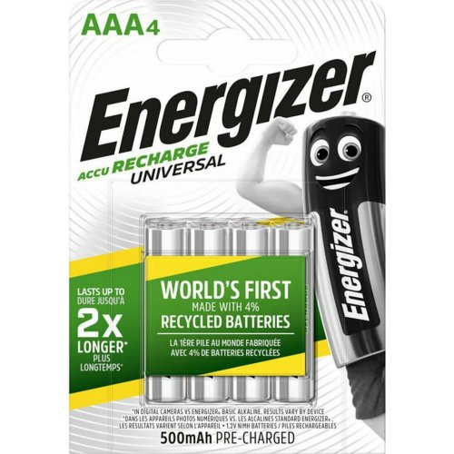 ENERGIZER AAA-HR03/500mAh/4 Επαναφορτιζόμενη Μπαταρία 0012247