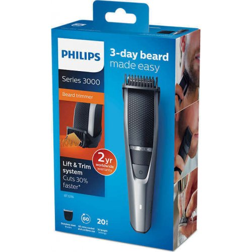 PHILIPS BT3216/14 Series 3000 Beard Trimmer Κοπτική Μηχανή 0015046