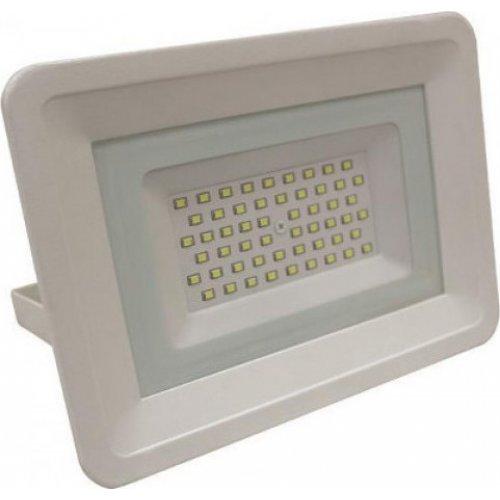 EUROLAMP 147-69430 Προβολέας Λευκός LED SMD 50W IP65 6500K