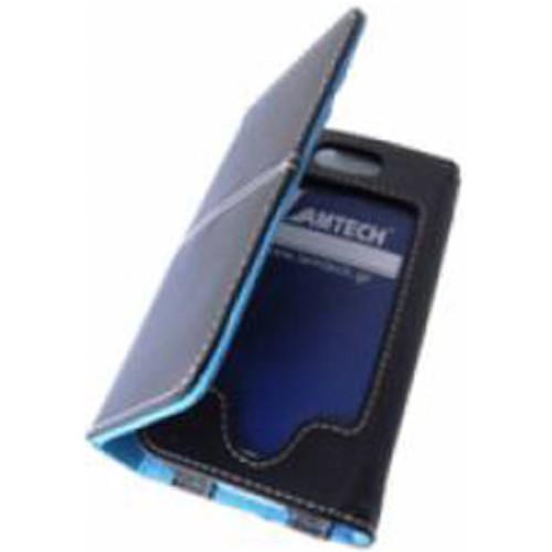 LAMTECH LAM050103 I-Phone Δερμάτινη Θήκη Μαύρη-Μπλε 0015592