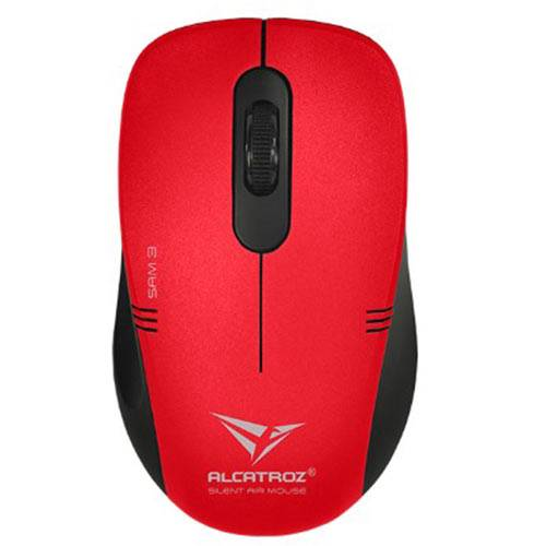 ALCATROZ SA3MR Wireless Silent Mouse Stealth Air 3 M.Red
