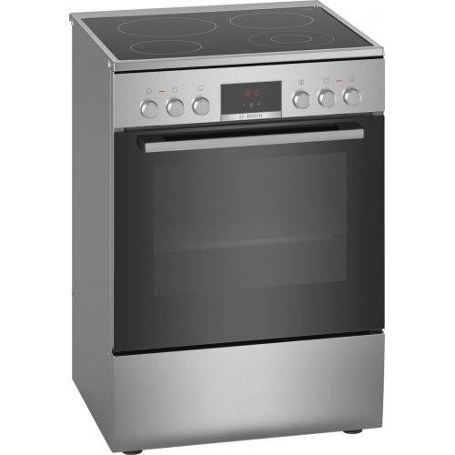 BOSCH HKR39B150 Ελέυθερη Κουζίνα 66lt - A - Inox - (Υ x Π x Β): 85 x 60 x 60 cm - 5 ETH ΕΓΓΥΗΣΗ
