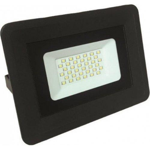 EUROLAMP 147-69423 Προβολέας Μαύρος LED SMD PLUS 30W IP65 6500K