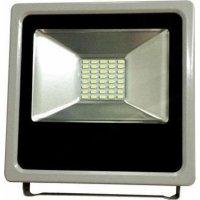 EUROLAMP 147-69403 Προβολέας Μαύρος LED SMD PLUS 10W IP65 6500K