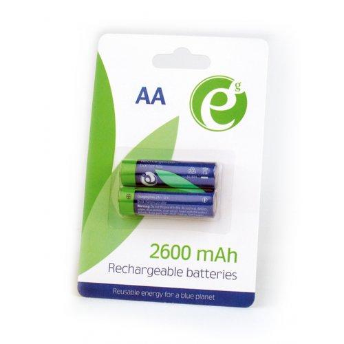 ENERGENIE EG-BA-AA26-01 NI-MH Επαναφορτιζόμενς Μπαταρίες  AA (2 τεμ) 0016979