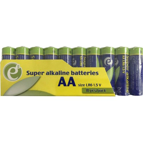 ENERGENIE EG-BA-AASA-01 Super Alkaline AA Batterry 10 Pack 0017453