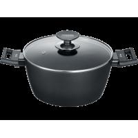 BERNDES 011345 Αντικολλητική Κατσαρόλα με Γυάλινο Καπάκι 24cm (Made in Germany)