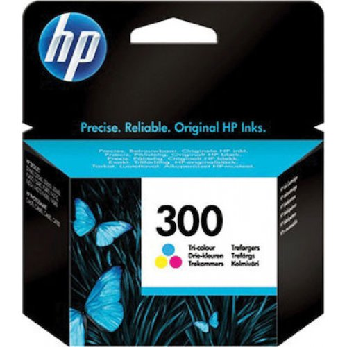 HP No300 (CC643EE) Μελάνι Εκτυπωτή Ink Cartridge Tri-Colour 0017705