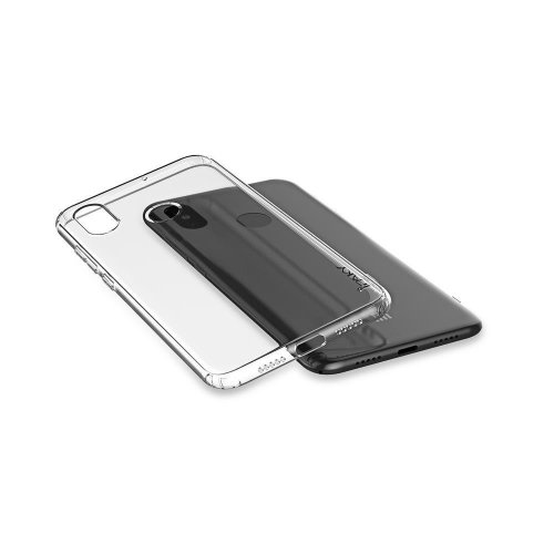 IPAKY IPK-003 Θήκη Effort TPU & Tempered Glass για Xiaomi Redmi 6A, Διάφανη 0017838