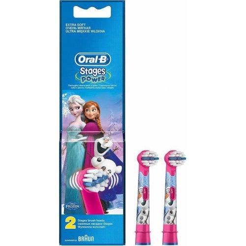 ORAL-B STAGES EB10K FROZEN Ανταλλακτικά Οδοντόβουρτσας 2 ΤΜΧ 0017947