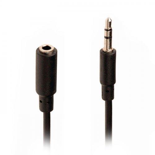 NEDIS CAGP22050BK20 Καλώδιο Ηχου 3,5mm αρσ. Stereo - 3,5mm Stereo θηλ., 2m 0018329