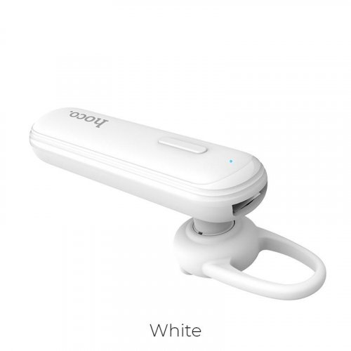 HOCO E36 Free Sound Business Bluetooth Earphone, White 0018351