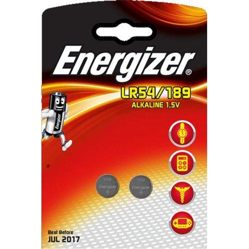 ENERGIZER LR54/189/2ΤΕΜ Αλκαλικές Μπαταρίες Energizer LR54/189 σε Blsiter 2 Mπαταριών 0018503
