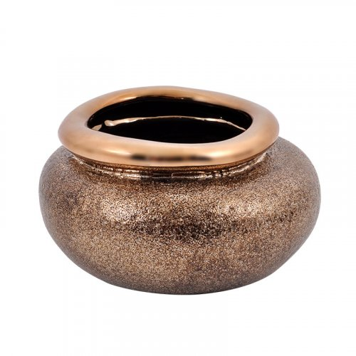 ETIQUETTE 0024-82-056 Κεραμική Κουπ Χρυσό Χρώμα 12,5εκ
