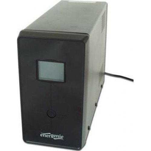 ENERGENIE EG-UPS-034 UPS With USB And LCD Display 1500VA Black