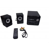 OEM DVD-801 Micro Hi-Fi 2.0 (DVD/VCD/CD/MP3/MP4/Bluetooth/FM/Karaoke)