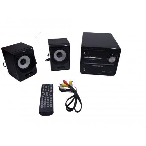 OEM DVD-801 Micro Hi-Fi 2.0 (DVD/VCD/CD/MP3/MP4/Bluetooth/FM/Karaoke)