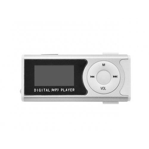 LAMTECH LAM020113 Digital MP3 Player 16GB With FM Radio Silver 0018825