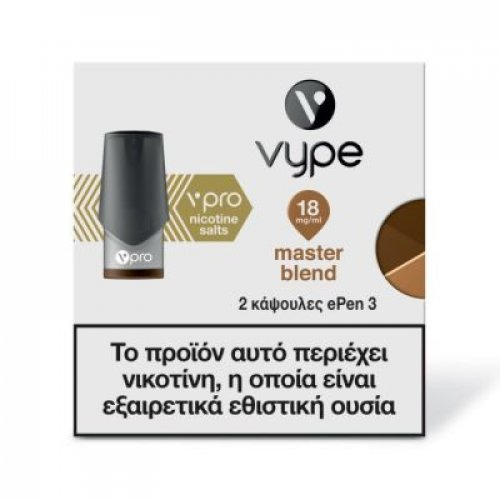 NOBACCO VYPE ePEN 3 Blended Tobacco 6mg 0018835