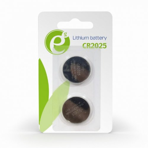 ENERGENIE EG-BA-CR2025-01 Button Cell CR2025 2-Pack
