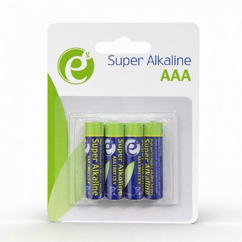 ENERGENIE EG-BA-AAA4-01 Alkaline AAA Batteries 4-Pack