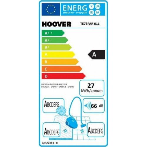 HOOVER TELIOS PLUS TE76PAR 011 Ηλεκτρική Σκούπα 700W - A/A/A/A 0019056