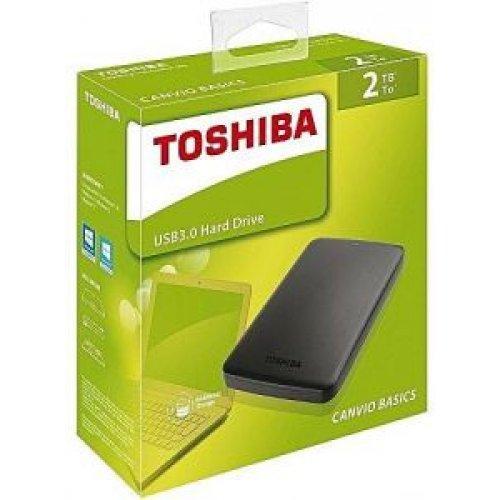 TOSHIBA HDTB420EK3AA External HDD Canvio Basics 2TB USB3.0 0019169