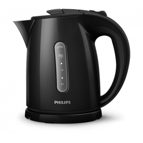 PHILIPS HD4647/20 Βραστήρας Πλαστικός Μαύρος 1,5L - 2400W