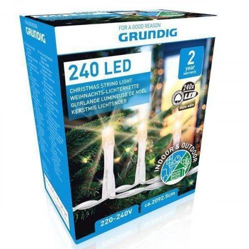 GRUNDIG 08933 XMAS Χριστουγεννιάτικα Λαμπάκια 240 LED 230V 0019274