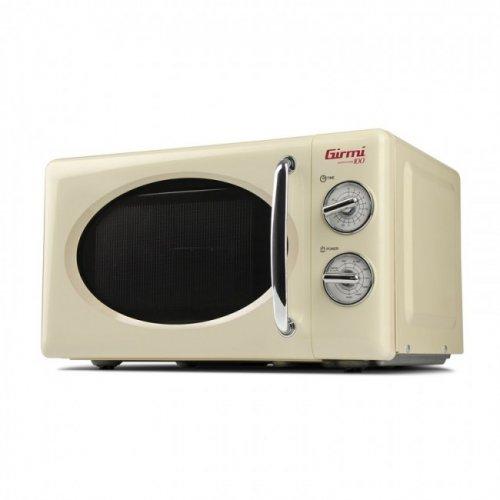 GIRMI FM-2105 Retro Φούρνος Μικροκυμάτων 20 lt - 700W (+ 800W Grll) Μπεζ 0019360
