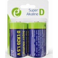 ENERGENIE EG-BA-LR20-01 Alkaline D-Cell Battery 2-Pack
