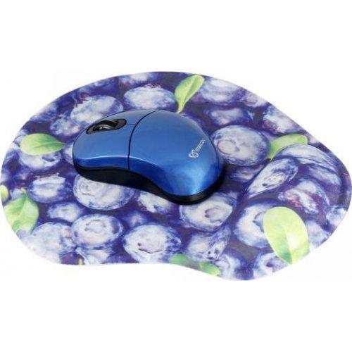 SBOX WM-206BL Wireless Mouse + Pad Blue