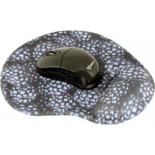 SBOX WM-206B Wireless Mouse + Pad Black