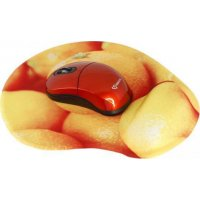SBOX WM-206O Wireless Mouse + Pad Orange