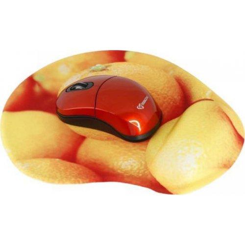 SBOX WM-206O Wireless Mouse + Pad Orange