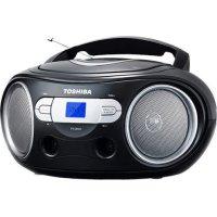 TOSHIBA TY-CRS9-BLK Audio Portable CD Boombox Black