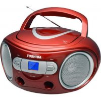 TOSHIBA TY-CRS9-RED Audio Portable CD Boombox Red
