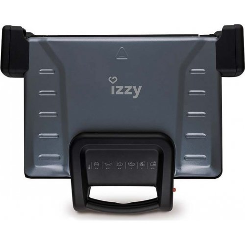 IZZY GREEK GRILL Τοστιέρα - Γκριλιέρα για 4 Τόστ 2100 W 0019613