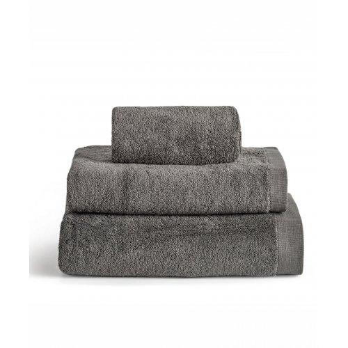 KENTIA Brand Grey Πετσέτα Προσώπου 50 χ 100