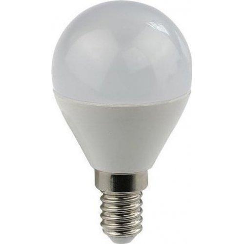 EUROLAMP 147-80236 Λάμπα LED Σφαιρική 7W Ε14 2700K 220-240V