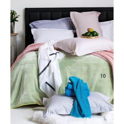KENTIA Soft 10 Κουβέρτα Βελουτέ Υπέρδιπλη 220 x 240