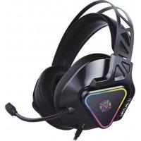 ZEROGROUND HD-3000G Akechi Pro Gaming Ακουστικά USB Surround 7.1
