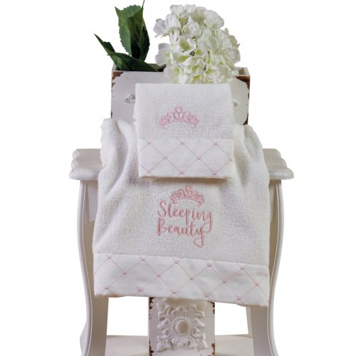 KENTIA Beauty Σετ 2 Βρεφικές Πετσέτες Προσώπου & Σώματος 0020412