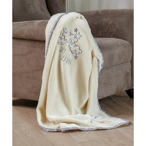 KENTIA Baby Dream Βελουτέ Κουβέρτα Κούνιας 110 x 140